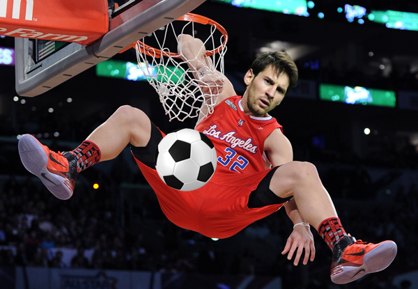 Ot Cool Vids And Photos Of Mlb And Soccer Players Dunking