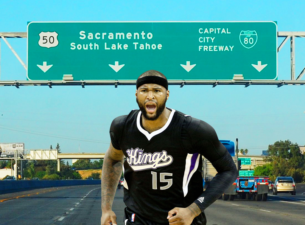 Off Court Issues - Demarcus Cousins Wants To Boogie Out Of Town